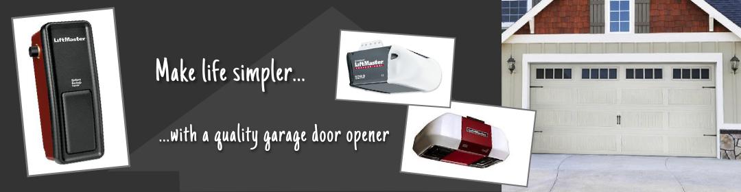 First Class Garage Doors - make life simpler with a quality garage door opener