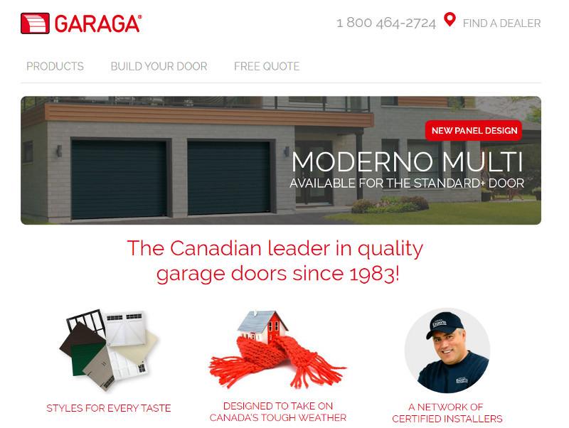 Garaga Website